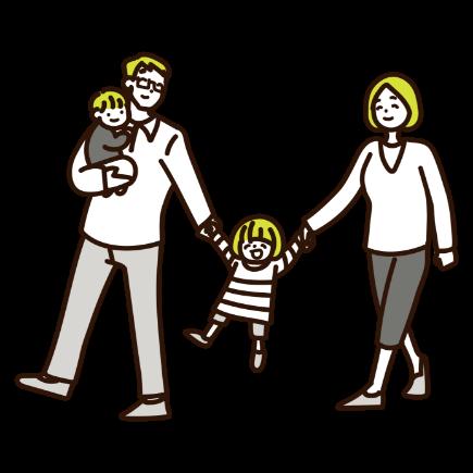 家族 温かい家庭