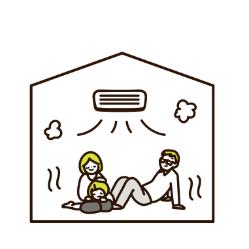 エアコンや暖房器具の設置数も少なく